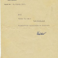 Pismo Vladimira Nazora