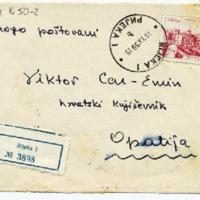 Pismo Ljube Pavešića